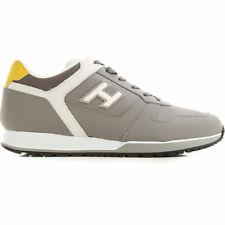 HOGAN Uomo Sneakers H321 pelle/tela grigio SCONTO 40%