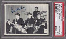 1964  OPC  BEATLES  B&W  # 62  PAUL McCARTNEY   PSA 8.5   DARK BACK