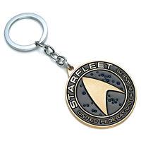 Hot Star Trek Starfleet Model Metal Keychain Key Ring Pendant Collectible Gift