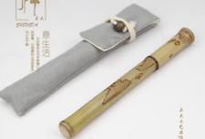 Fine Nib Handmade Fountain Pen Nature Bamboo Pen Converter Pen
