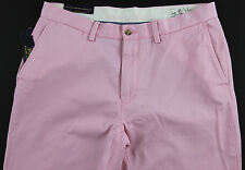 Men's POLO RALPH LAUREN Foster Pink Chino Pants 34x30 NWT NEW MiNoR DiRt DeFeCt