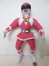 MIGHTY MORPHIN POWER RANGERS KIMBERLY PINK RANGER PLUSH FIGURE 1994 RARE !!!