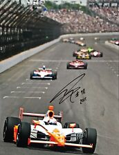 Dan Wheldon Hand Signed Honda Indy 500 16x12 Photo 1.