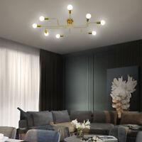 Modern Sputnik Chandelier Vintage Ceiling Light Pendant Industrial Fixture