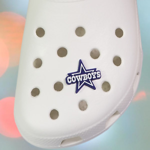 DALLAS COWBOYS SHOE CHARMS for CROCS COWBOYS SHOE CHARM NFL CLOG SHOE CHARMS NEW