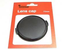 72mm Snap On Pinch Clip Plastic Lens Front Cap Fits Canon Olympus Pentax Lenses