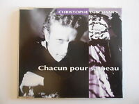 CHRISTOPHE DESCHAMPS : CHACUN POUR SA PEAU (choeurs GOLDMAN CABREL) [ CD-MAXI  ]