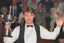 Stephen Hendry Hand Signed Snooker 12x8 Photo Legend 1.