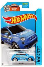2015 Hot Wheels #50 HW City HW Rescue Fiat 500