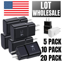 Wholesale Samsung S20 Adaptive Fast Charging USB Wall Charger Power Adapter Lot