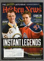 AUGUST 17, 2015 THE HOCKEY NEWS MAGAZINE-JACK EICHEL-CONNOR McDAVID COVER