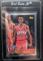 1996 TOPPS 50TH #171 ALLEN IVERSON ROOKIE CARD RC SIXERS HOF