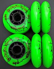 8 84mm Koncrete Inline Skate Wheels-outdoor fitness k2 rollerblade hockey speed