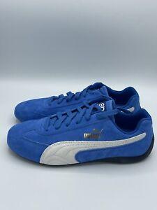 Puma Speedcat OG Sparco Blue White Men New Shoes Racing Driving Rare 339844-02