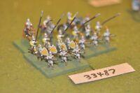 25mm renaissance / spanish - battle group 19 figures - inf (33487)