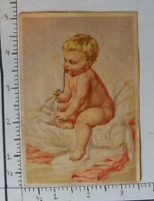 RIDGE'S FOOD WOOLRICH & CO PALMER MA NAKED BABY BLANKETS BOTTLE MILK 1583