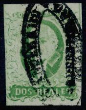 ab07 Mexico #3b 2R Plate 1 Dp Em Queretaro Sz 1264 wet print Est $60-100 w/FL VF