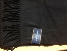Brand New Club Room Scarf, Cashmere Scarf - 100% cashmere -black