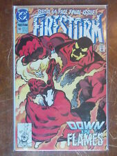 Firestorm 100 NM 9.4 LAST ISSUE 1990 BAGGED BOARDED