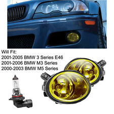 Ham Style Front L+R Fog Light Cover Direct Bolt-On ABS for 2001-2006 BMW E46 M3