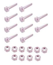 *NEW* Zinc Plated M4 Nuts (x10) and Bolts (x10) for Cooker/ Oven Elements