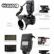 Ringblitz für Nikon Meike MK-14EXT Makro i-TTL mit LED Hilfslicht Macro ring TOP