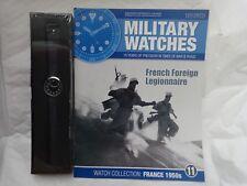 EAGLEMOSS Militaire montres-étrangère Française Légionnaire 1950 S watch Issue 11