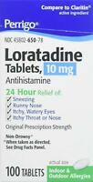 Perrigo Loratadine 10mg Tablets, 100ct -Expiration Date 02-2021-