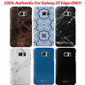 100% Authentic iDeal of Sweden Fashion Slim Hard Case For Samsung Galaxy S7 Edge