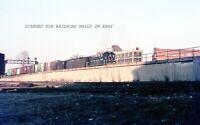 April 1967 New York Central #8602 Dayton Ohio ORIGINAL AGFACHROME SLIDE
