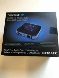 NETGEAR Nighthawk M1 4G Gigabit LTE Mobile Broadband Router MR1100 UNLOCKED