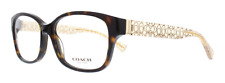 COACH HC6049 5152 54 Eyeglasses Dark Tortoise / Crystal Brown Optica Frame
