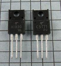 2SA1930 & 2SC5171, A1930 / C5171 :  2pcs each, per Lot