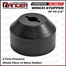 """Ranger Rubber ATV, UTV, Jeep, Truck Winch Stopper Saver 3/16"""", 1/4"""", 5/16"""", 3/8"""""""