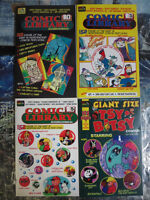 Comic Library International 1, 3, 5, 6 Lot of Four books The Best in Independent