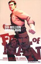 Six Million Dollar Man: Fall of Man #5 DYNAMITE 2016