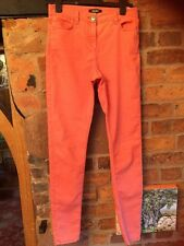 Marks & Spencer Skinny Trousers Size 10 Long Coral VGC