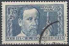 FRANKREICH CHÔMEURS INTELLEKTUELLE PASTEUR NR.385 1938 ABSTEMPELUNG CAD LUXE