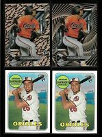2018 Topps ANTHONY SANTANDER rookie LOT rc heritage high tek baltimore orioles