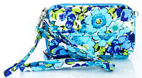 VERA BRADLEY Blueberry Blooms All In One Crossbody For Iphone 6