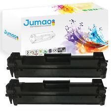 Lot de 2 Toners cartouches d'impression type Jumao pour HP 44A, couleur Noir