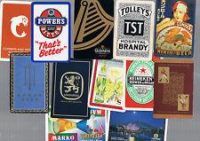 Playing Swap Cards 20  VINT & SEMI  VINT  WORLD  MIXED  DRINK  ADVTS  BULK18