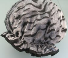 SHOWER CAP HAT  AUSTRALIA  HANDMADE, WATERPROOF white tiger  PRINT ready to post