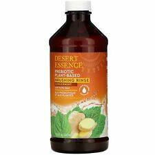 Prebiotic, Plant-Based Brushing Rinse, Gingermint,  15.8 fl oz (467 ml)