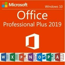 MS OFFICE PROFESSIONAL PRO PLUS 2019 32/64 BIT ✅ LICENSE KEY ✅ INSTANT DELIVERY✅