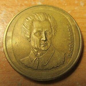 Greek coins-20 Drachmas ''1990''  Dionisios Solomos Greek Democracy