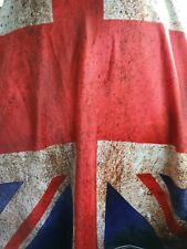 New listing Union Jack Top T-Shirt Exercise Gym Biking Fitted Brand New