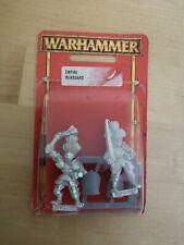 Warhammer Fantasy Empire Reiksguard Foot Knights Metal Blister Sealed 2