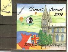 BLOC CNEP NON DENTELE N° 40 A** NON  DENTELE SALON CLERMONT Contresigné 2002