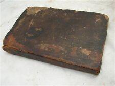 Antique 1830 German Imprint Astrology Book Celestial Calendar Reading PA School